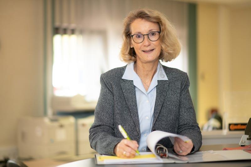 Mitarbeiter bei Servatius & Ehlenz - Annette Brewka